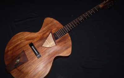 Pagelli style guitar made by Sorrentino  –  £999