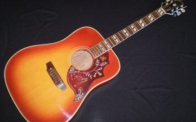 1968 Gibson Hummingbird  –  £2499