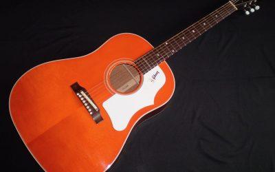 2007 Gibson 1968 J-45 ADJ Reissue Translucent Orange  –  £1799