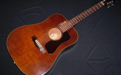 1977 Guild D25M  –  £899