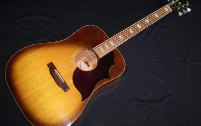 1974 Gibson SJ Deluxe  –  £1749