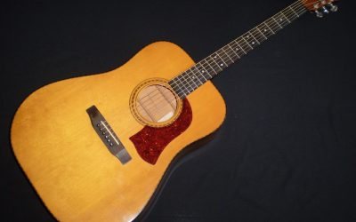 1976 Mossman Tennessee Flat Top  –  £1999