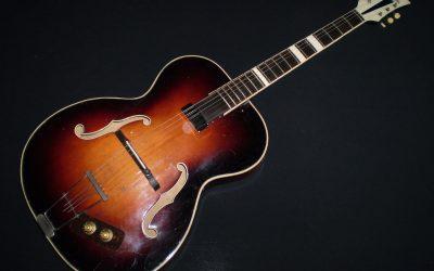 1959 Pre Vox Jennings (JMI) Archtop – £499