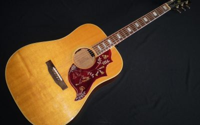 1973 Gibson Hummingbird  –  £1999
