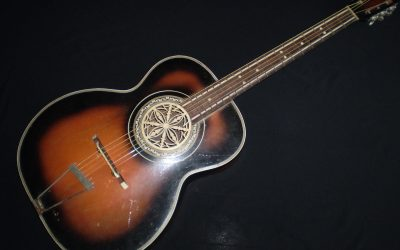 1950's Archtop with filigree rose soundhole  –  £399