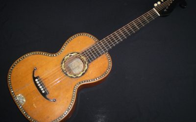 1879 Stauffer style Romantic guitar by Stowasser   –  £999